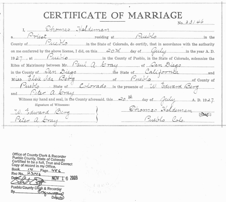 Marriage License San Diego Online Garage